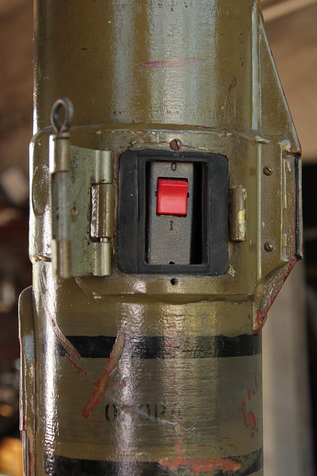 Raketenträgerlampe RL 58