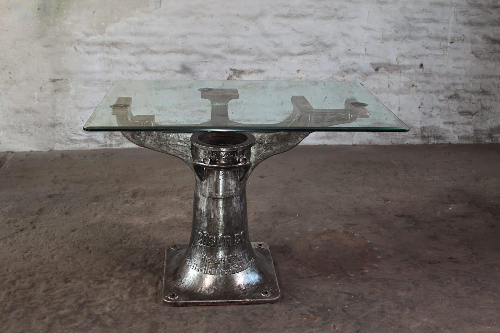 Tisch Glasstahl GS 01
